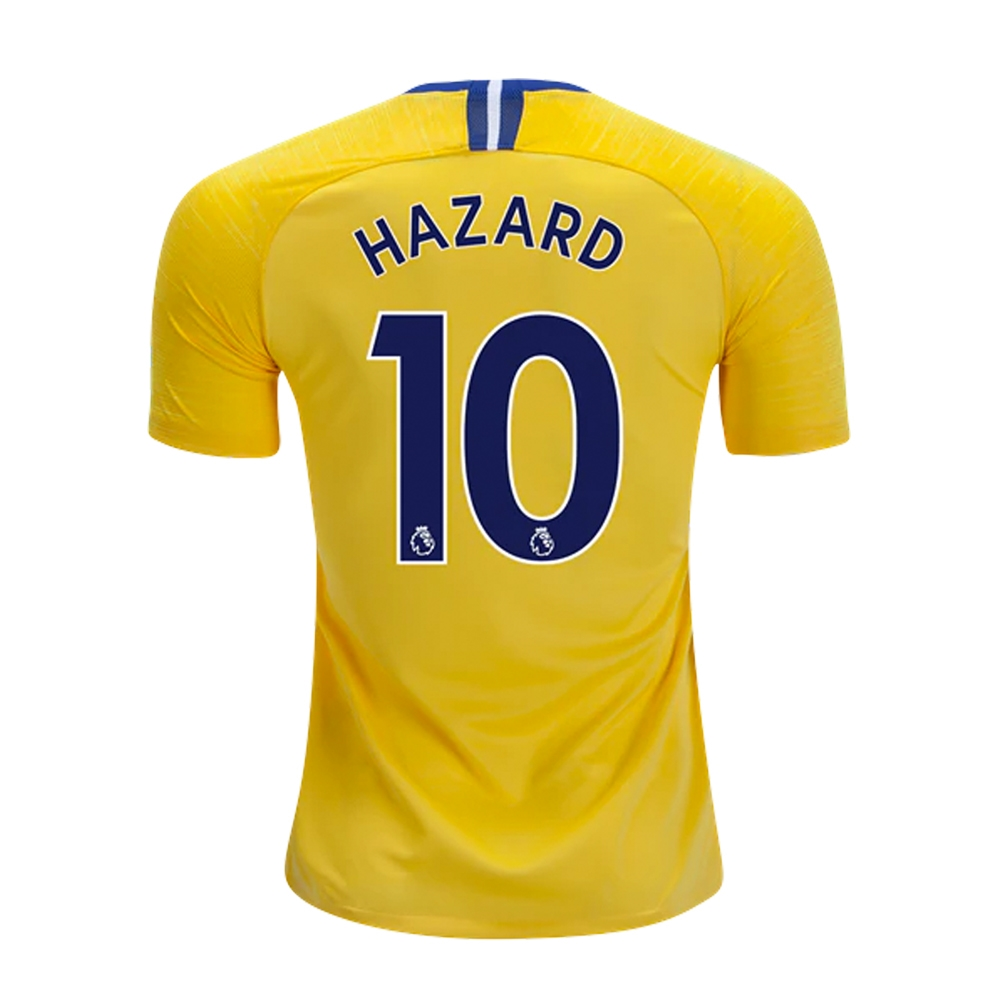 858341db13e Nike Youth Chelsea  HAZARD 10  Away Stadium Jersey  18- 19 (Tour ...