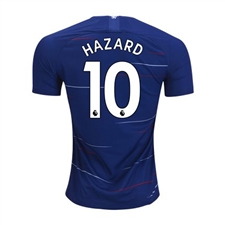 Nike Youth Chelsea 'HAZARD 10' Home Stadium Jersey '18-'19 (Rush Blue/White)