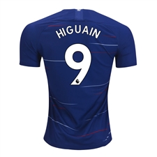 Nike Youth Chelsea 'HIGUAIN 9' Home Stadium Jersey '18-'19 (Rush Blue/White)