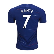 Nike Youth Chelsea 'KANTE 7' Home Stadium Jersey '18-'19 (Rush Blue/White)