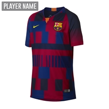 Nike 20th Anniversary FC Barcelona Youth Stadium Jersey (Deep Royal Blue/Noble Red/Tour Yellow)