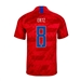 Nike USA 'ERTZ 8' Youth 2019 Away Stadium Jersey (Speed Red/Bright Blue)