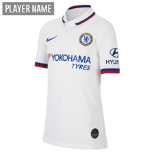 Nike Youth Chelsea Away Stadium Jersey '19-'20 (White/Rush Blue)