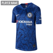 Nike Youth Chelsea Home Stadium Jersey '19-'20 (Rush Blue/White)