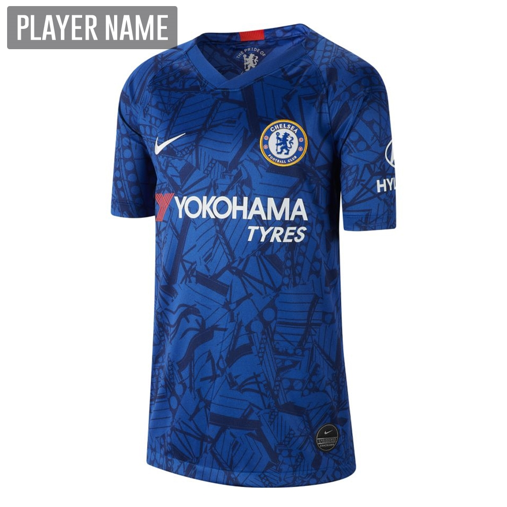 8d82bc43785 Nike Youth Chelsea Home Stadium Jersey  19- 20 (Rush Blue White ...
