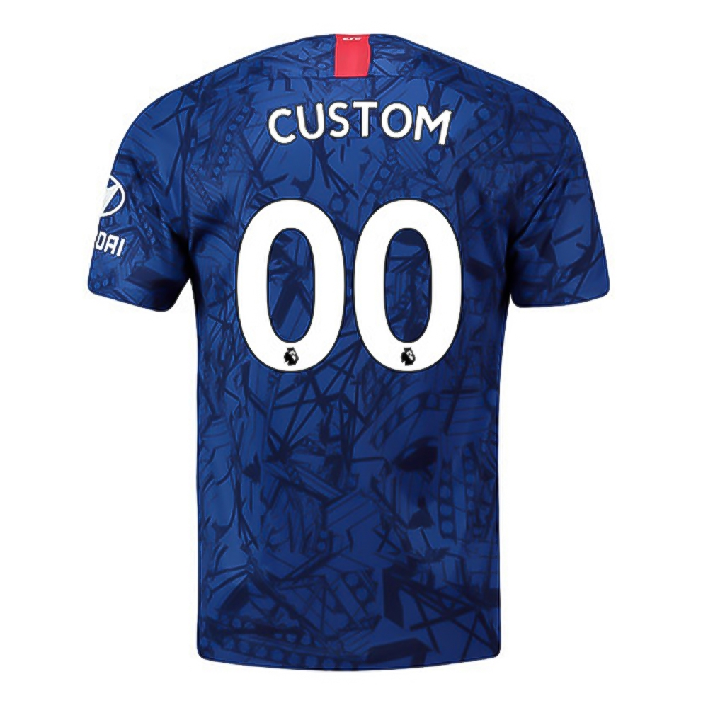 eb2b1879c Nike Youth Chelsea 'CUSTOM' Home Stadium Jersey '19-'20 (Rush Blue ...