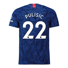 Nike Youth Chelsea 'PULISIC 22' Home Stadium Jersey '19-'20 (Rush Blue/White)