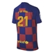 Nike Youth FC Barcelona 'F. DE JONG 21' Home Stadium Jersey '19-'20 (Deep Royal Blue/Varsity Maize)