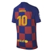 Nike Youth FC Barcelona 'MESSI 10' Home Stadium Jersey '19-'20 (Deep Royal Blue/Varsity Maize)