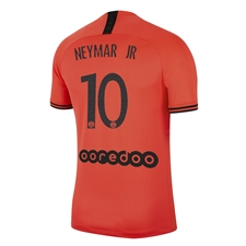 Nike Youth PSG x Jordan 'NEYMAR JR 10' Away Stadium Jersey '19-'20 (Infrared 23/Black)