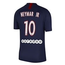 Nike Youth PSG 'NEYMAR JR 10' Home Stadium Jersey '19-'20 (Midnight Navy/White)