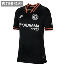 Nike Youth Chelsea Third Stadium Jersey '19-'20 (Black/White)