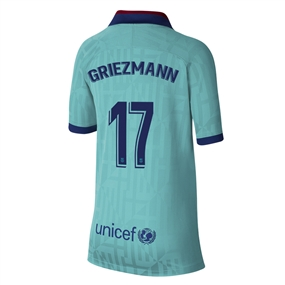 Nike Youth FC Barcelona 'GRIEZMANN 17' Third Stadium Jersey '19-'20 (Cabana/Deep Royal Blue)