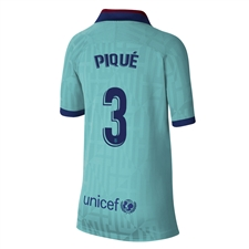Nike Youth FC Barcelona 'PIQUE 3' Third Stadium Jersey '19-'20 (Cabana/Deep Royal Blue)