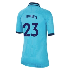 Nike Youth Tottenham 'ERIKSEN 23' Third Stadium Jersey '19-'20 (Blue Fury/Binary Blue)