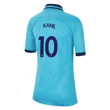 Nike Youth Tottenham 'KANE 10' Third Stadium Jersey '19-'20 (Blue Fury/Binary Blue)