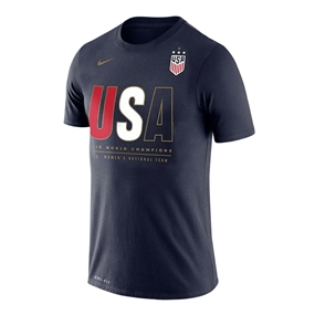 Nike USA Youth Champions 2019 Core T-Shirt (Navy)