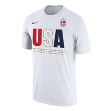 Nike USA Youth Champions 2019 Core T-Shirt (White)
