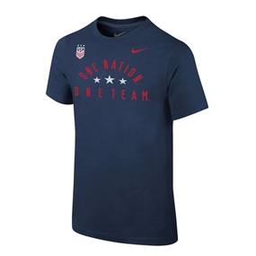 Nike USA Youth Legend 2.0 T-Shirt (Navy)