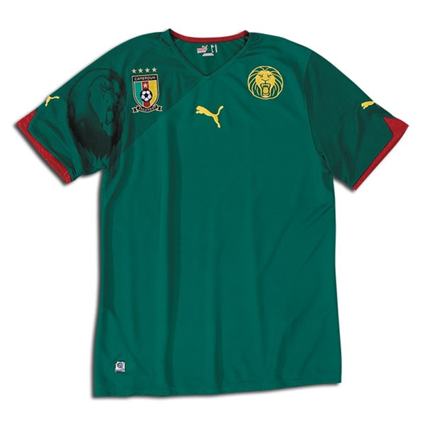 f08b206d2  49.49 - Puma Cameroon Home  10 World Cup Youth Soccer Jersey (Green ...