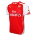Puma Arsenal Home '14-'15 Youth Replica Soccer Jersey (High Risk Red/White)