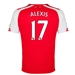 Puma Arsenal 'ALEXIS 17' Home '14-'15 Youth Replica Soccer Jersey (High Risk Red/White)