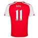 Puma Arsenal 'OZIL 11' Home '14-'15 Youth Replica Soccer Jersey (High Risk Red/White)