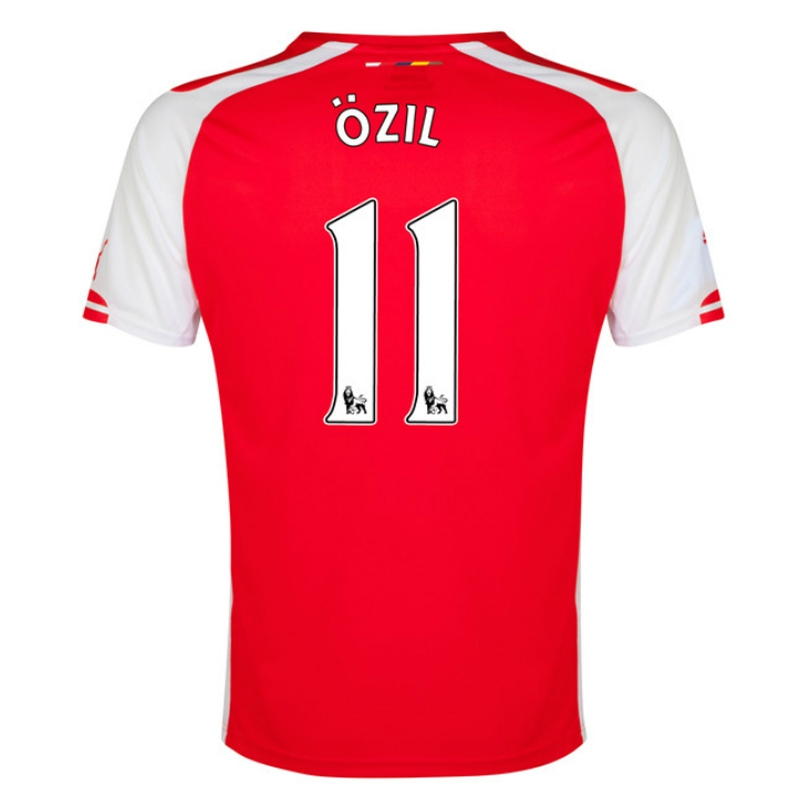 wholesale dealer cc199 b8be6 Puma Arsenal 'OZIL 11' Home '14-'15 Youth Soccer Jersey (Red/White)