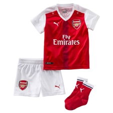 Puma Arsenal Home '16-'17 Toddler Mini Kit (High Risk Red/White)