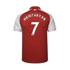 Puma Youth Arsenal 'MKHITARYAN 7' Home '17-'18 Replica Soccer Jersey (Red/White)