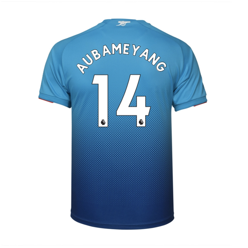 lowest price 9e381 89da2 Puma Youth Arsenal 'AUBAMEYANG 14' Away '17-'18 Replica Soccer Jersey (Blue)