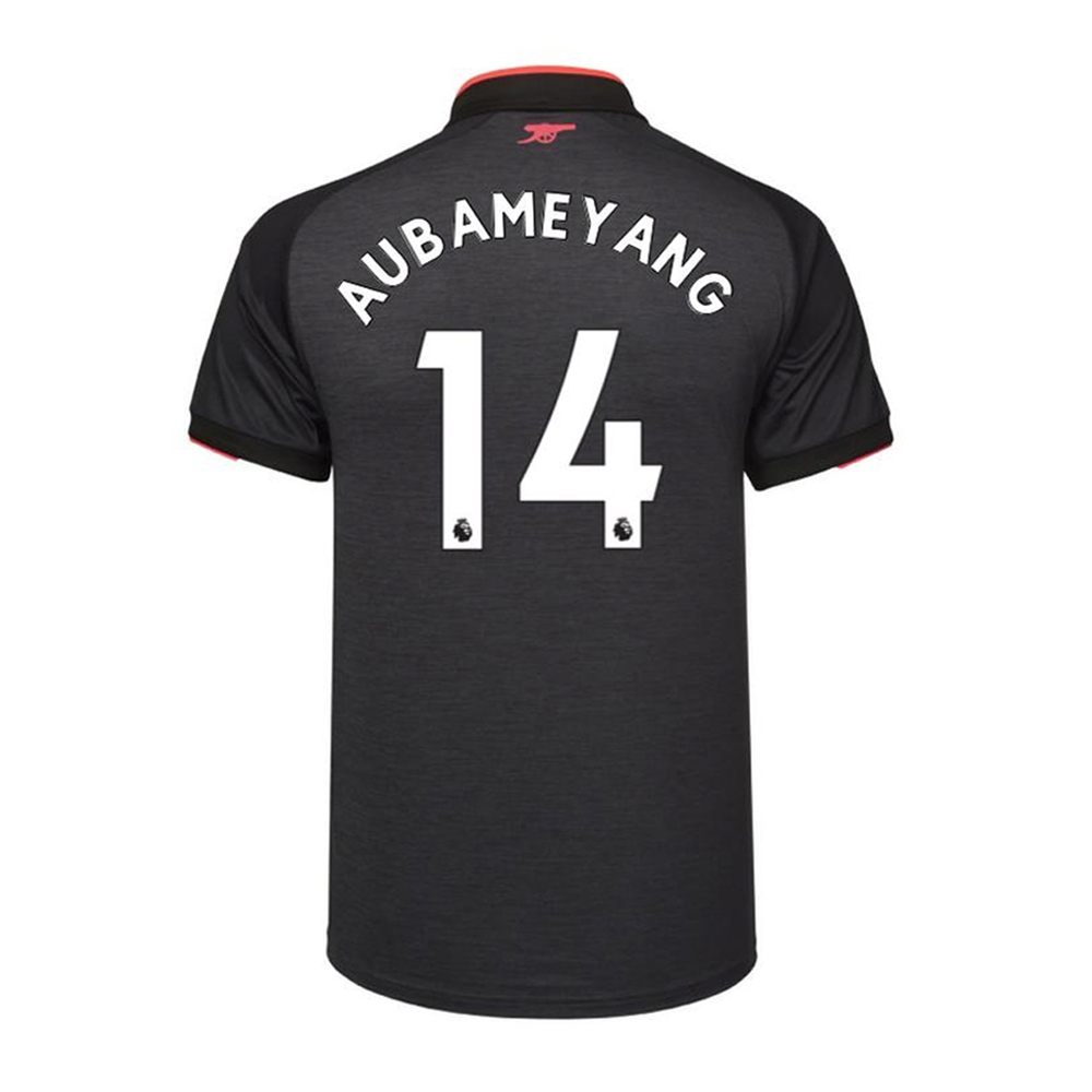 5021a3b83ad ... Puma Youth Arsenal  AUBAMEYANG 14  Third  17- 18 Replica Soccer Jersey  ...