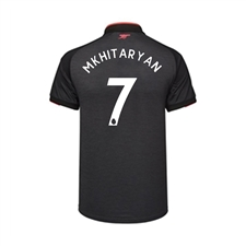 Puma Youth Arsenal 'MKHITARYAN 7' Third '17-'18 Replica Soccer Jersey (Dark Heather Gray/Puma Black)