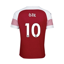 Puma Youth Arsenal 'OZIL 10' Home Jersey '18-'19 (Chili Pepper/White)
