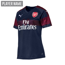 Puma Youth Arsenal Away Jersey '18-'19 (Peacoat/High Risk Red)