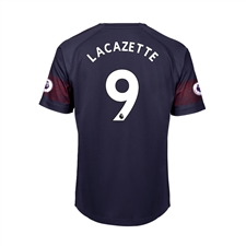 Puma Youth Arsenal 'LACAZETTE 9' Away Jersey '18-'19 (Peacoat/High Risk Red)