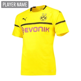Puma Youth Borussia Dortmund Cup Jersey '18-'19 (Cyber Yellow/Black)