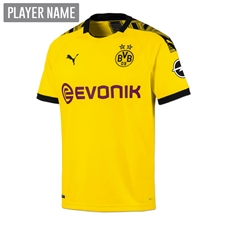Puma Youth Borussia Dortmund Home Jersey '19-'20 (Cyber Yellow/Puma Black)