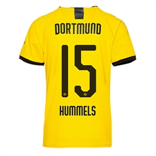 Puma Youth Borussia Dortmund 'HUMMELS 15' Home Jersey '19-'20 (Cyber Yellow/Puma Black)