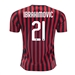 Puma Youth AC Milan 'IBRAHIMOVIC 21' Home Jersey '19-'20 (Tango Red/Puma Black)