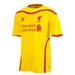 Warrior Liverpool Away Youth '14-'15 Replica Soccer Jersey (Cyber Yellow/High Res Red)