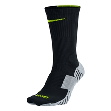 Nike MatchFit Socks (Black/Wolf Grey/Volt)