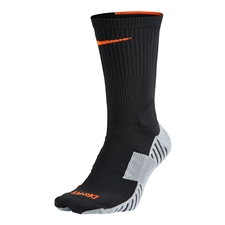 Nike MatchFit Socks (Anthracite/Wolf Grey/Total Orange)