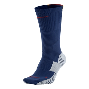 Nike MatchFit Socks (Loyal Blue/Wolf Grey/Storm Red)