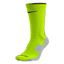 Nike MatchFit Socks (Volt/Wolf Grey/Black)