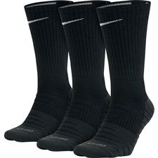 Nike Dry Cushion Crew Training Socks 3 Pack (Black/Anthracite/White)