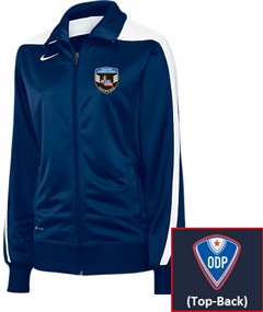 Nike (Women's) Mystifi Jacket (Navy/White)