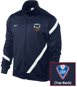 Nike (Men's) Comp 12 US Poly Jacket (Navy/White)
