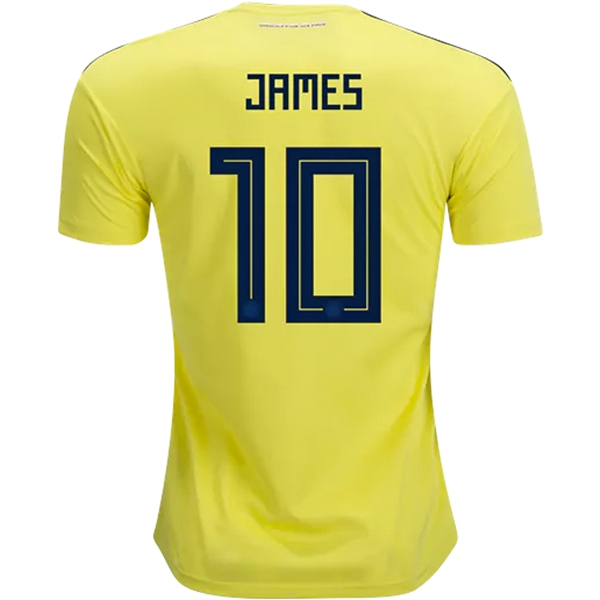 2906b7cab Adidas Colombia Home Jersey '18-'19 (Bright Yellow/Collegiate Navy) |  Colombia Soccer Jerseys| CW1526 | SoccerCorner.com
