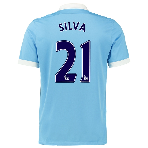 ... David Silva Manchester City FC Youth Jersey - 21 Light Green Third 15  Nike Manchester City Home 15-16 Soccer Stadium Jersey (Field  BlueWhiteObsidian) ...
